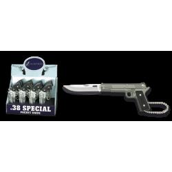 Нож ключодържател пистолет 19618 ALb